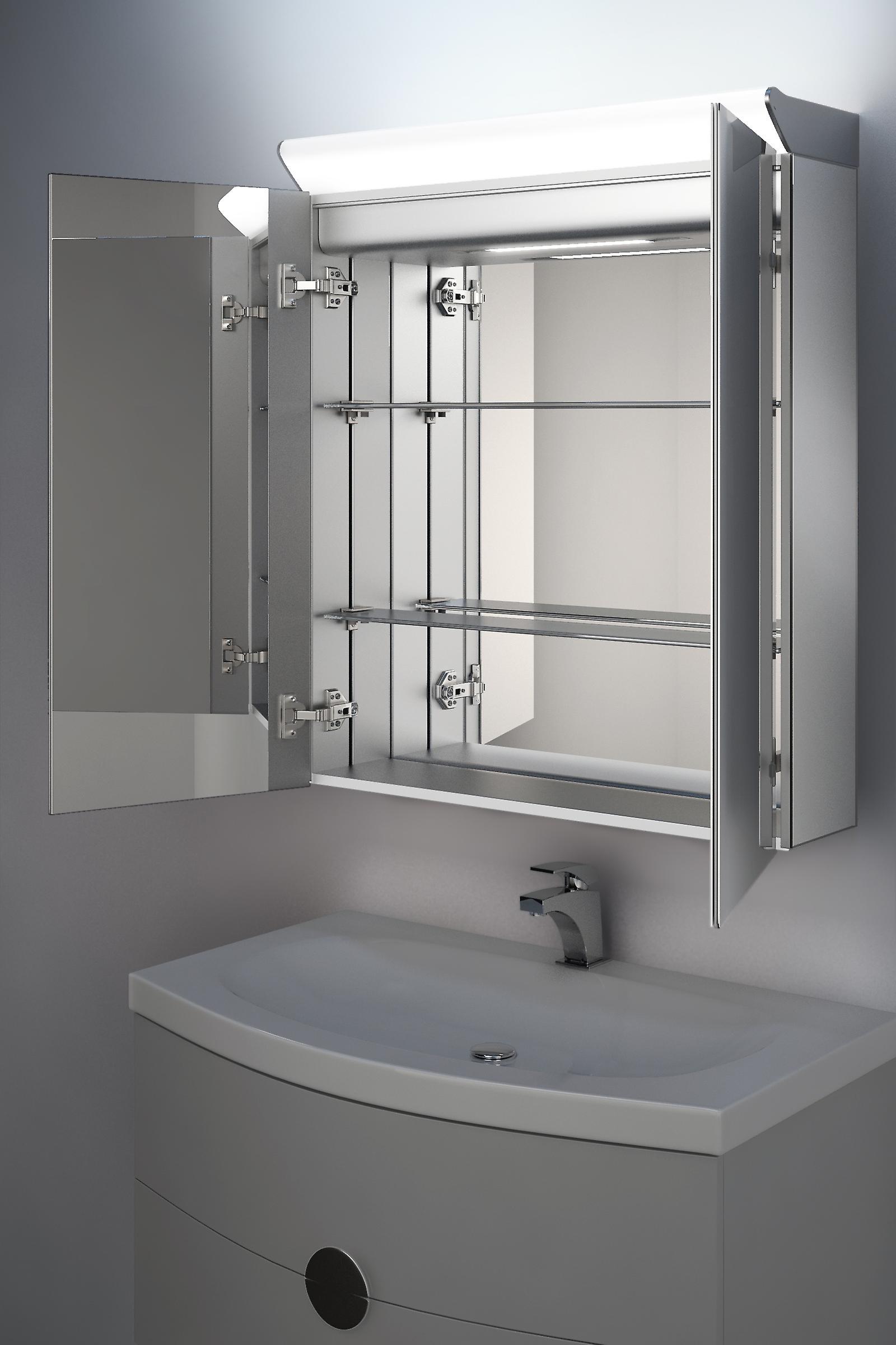 Matar Top Light Diffuser Cabinet with Sensor, Shaver & Demister k500