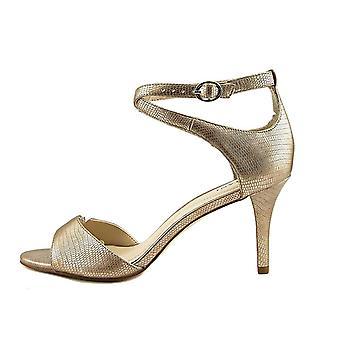 Alfani Damen Ginnii Leder zehenoffenen lässige Ankle Strap Sandalen
