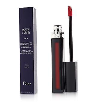 Rouge Dior Liquid Lip Stain - # 999 Matte (Rood) 6ml/0.2oz