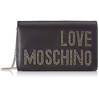 Love Moschino Jc4091pp1a Black Women's Hand Bag (Zwart) 6x14x22cm (W x H x L)