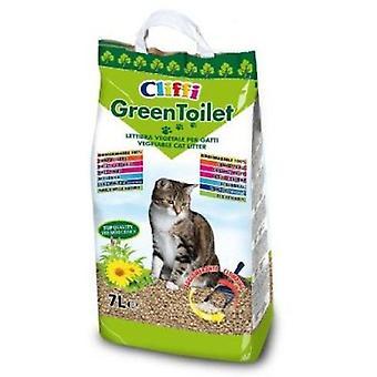 Cliffi Greentoilet 7 litrów (koty, Pielęgnacja idealna dobrobytu, żwirek)