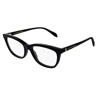 Alexander Mcqueen AM0161O 001 Black Glasses