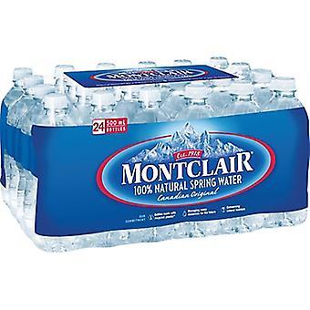 Montclair Spring Water-( 500 Ml X 24 )