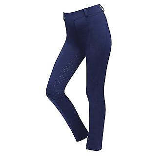 Dublin Performance Cool-it Gel Childs Riding Tights - Navy Blue