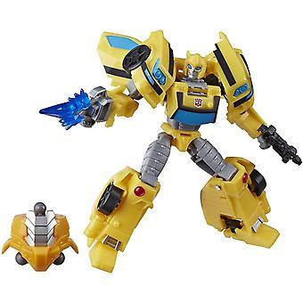 Transformers Cyberverse Adventures Deluxe Class Bumblebee Action Figure