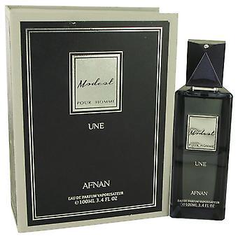Modest Pour Homme une Eau de Parfum Spray por Afnan 3,4 oz Eau de Parfum Spray