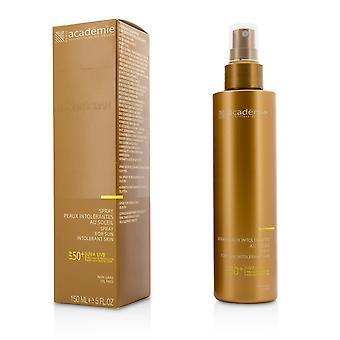 Spray para piel intolerante al sol spf 50+ libre de aceite 205278 150ml/5oz