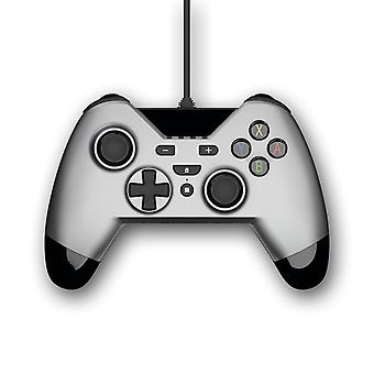 Gioteck WX4 Wired Silver Controller (Nintendo Switch, PS3 e PC)