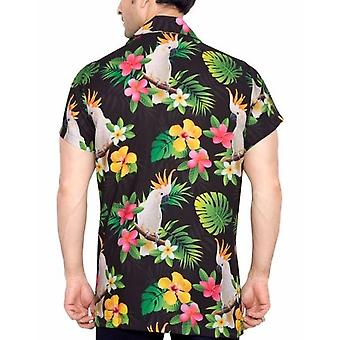 Club cubana men's regular fit classic short sleeve casual shirt cdkupb531