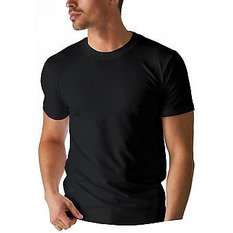 Mey 46103-123 mäns torr bomull svart färg Kortärmad topp