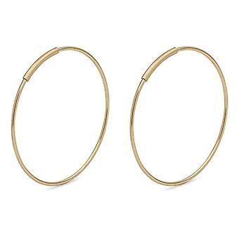 Pilgrim Gold-plated Women's Hoop Earrings - 611832093