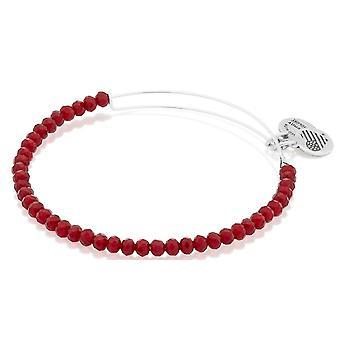 Alex and Ani Brilliance Bead Life On Mars Red Bracelet - A16EB116SS