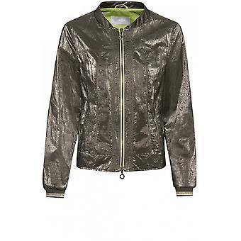 Bianca Metallic Pewter Jacket