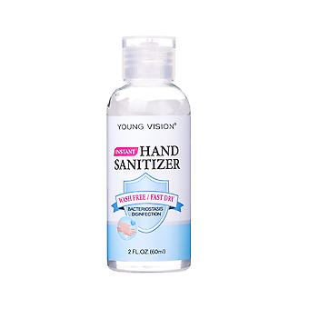 Antibacterial hand sanitizer, portable alcohol disinfectant and 60 ml, portable alcohol disinfectant hand sanitizer