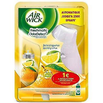 Air Wick Freshmatic Compact Autospray holder og genopfylder 24ml - Mousserende Citrus