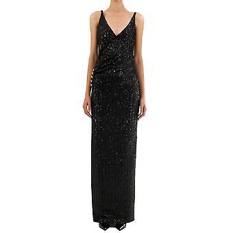 Balmain Sf16892235x0pa Women's Black Nylon Dress