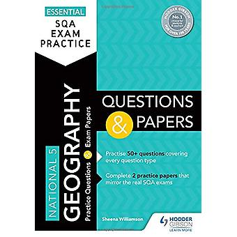 Essential SQA Exam Practice - National 5 Geography Questions and Paper