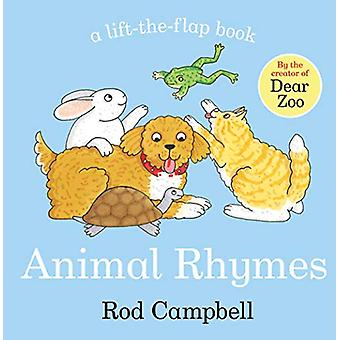 Animal Rhymes by Rod Campbell - 9781529012002 Book