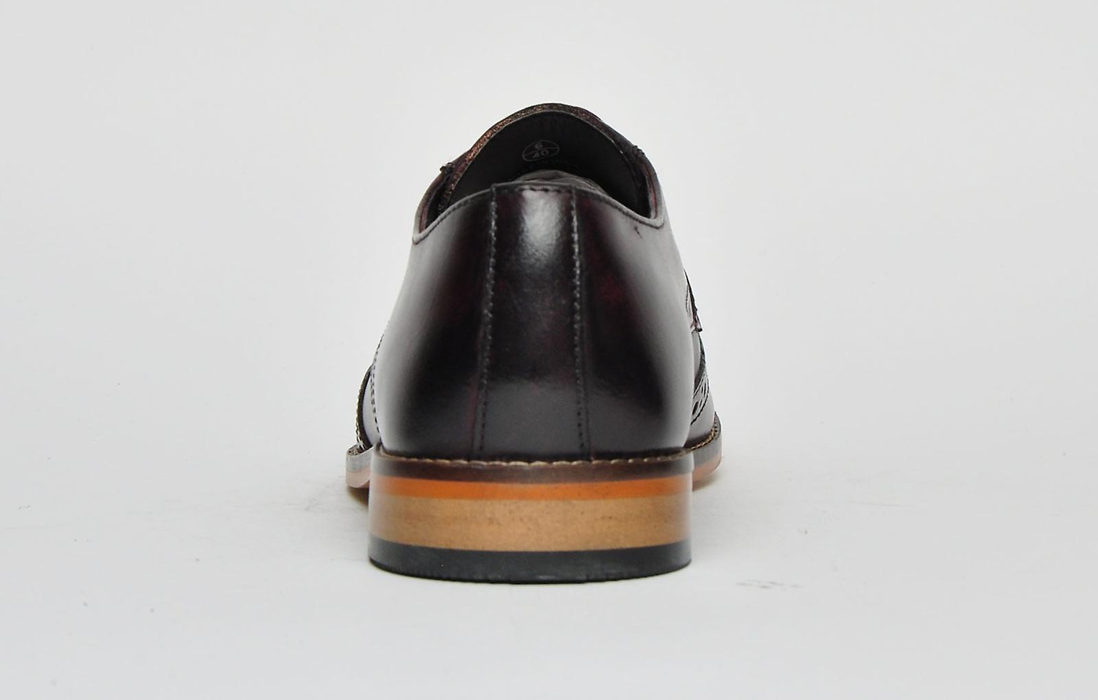 Ikon Classic Ramsay Leather Bordo