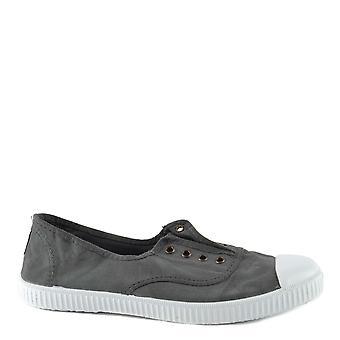 Victoria Shoes Dora Plomo Canvas Plimsolls