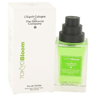 Tokyo Bloom Eau De Toilette Spray (Unisex) By The Different Company 3 oz Eau De Toilette Spray
