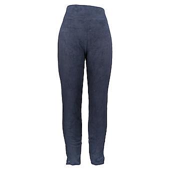 Cuddl Duds Leggings Slim Fit w/ Stretch Knit Dark Blue A342094
