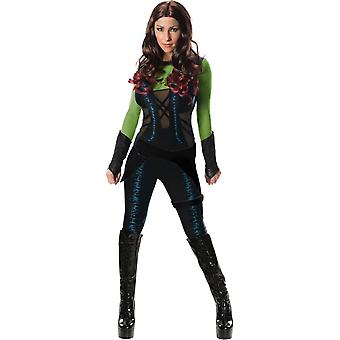 Gamora hoeders van de Galaxy volwassen kostuum