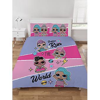 LOL Surprise Babies Run the World Double Duvet Cover Set