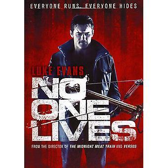 Ingen én lever [DVD] USA importerer