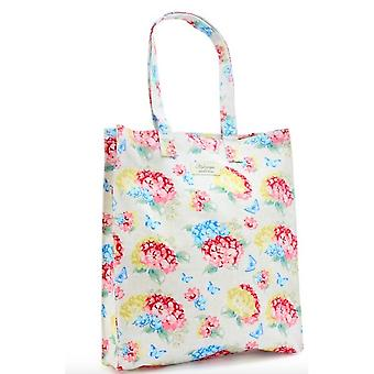 Womens/Ladies Hydrangea Large Shopping Bag