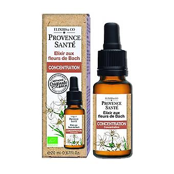 ORGANIC concentration 20 ml of floral elixir