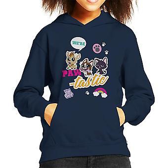 Littlest Pet Shop We're Paw Tastic Kid's Hooded Sweatshirt