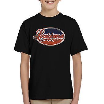 Londres Banter Louisiana auto reparos Kid ' s T-shirt
