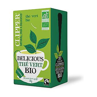 Green tea 20 infusion bags of 35g