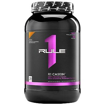 Rule1 R1 Casein Protein Lightly Salted caramel 2 lbs