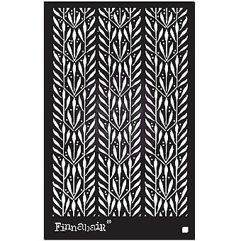 Finnabair لوريل 6x9 بوصة استنسل
