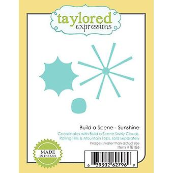 Taylored Expressions Cutting Dies – Build a Scene Sunshine