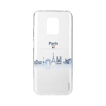 Scafo per Xiaomi Redmi Note 9 Pro Souple Monuments De Paris