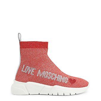 Liefde moschino ja15103 women's steentjes logo sneakers