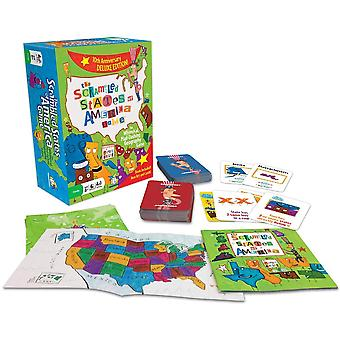 Games - Ceaco Gamewright - The Scrambled States of America 5505c
