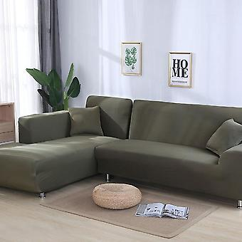 Stretch Elastic Sectional Corner L-vorm Sofa Covers voor woonkamer