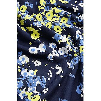 Sandwich Clothing Navy Floral Print Jersey Dress
