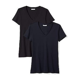 Brand - Daily Ritual Women's Lichtgewicht 100% Supima Cotton Short-Slee...