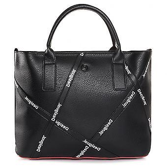 Desigual Arcadian Holbox Mini Bag Arty Splash Print Shopper Bag 20WAXP35