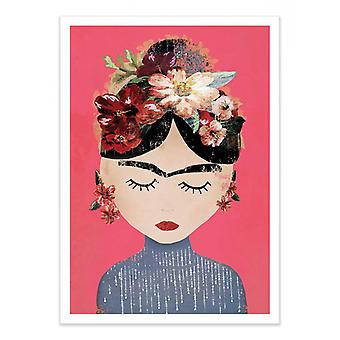 Art-Poster - Frida Pink Version - Treechild