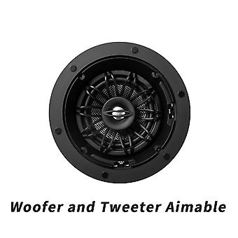 5.25-inches In-ceiling-speaker With Pivotaing And Rotating Woofer And