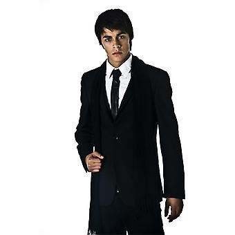 Krawatten Planet schwarze Abendkleid Schal