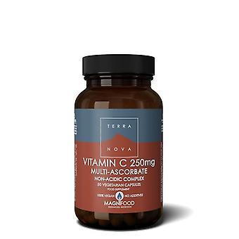 Terranova Vitamina C 250mg Complejo Vegicaps 50 (T0370)