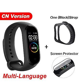 Smart Bracelet Heart Rate Fitness Tracker 135mah Color Screen Waterproof Bluetooth 5.0 For Xiaomi Mi Band 4