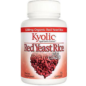Riz à levures rouge Kyolic, 75 bouchons